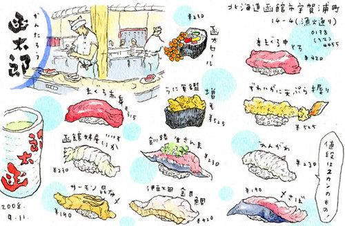 グルメ回転寿司 函太郎